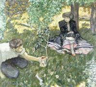 Country fun (Pierre Bonnard) - Muzeo.com