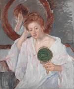 Denise at her Dressing Table (Mary Cassatt) - Muzeo.com