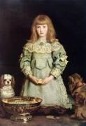 Dorothea Thorpe (John Everett Millais) - Muzeo.com