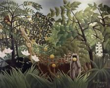 Exotic Landscape (Henri Rousseau) - Muzeo.com