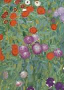 Flower Garden (Gustav Klimt) - Muzeo.com