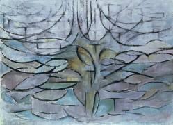 Flowering Appletree (Mondrian Piet) - Muzeo.com