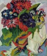 Flowers (Ernst Ludwig Kirchner) - Muzeo.com
