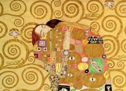 Fulfilment (detail) (Gustav Klimt) - Muzeo.com