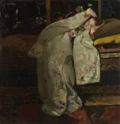 Girl in a White Kimono (George Hendrik Breitner) - Muzeo.com