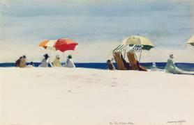Gloucester Beach, Bass Rocks (Edward Hopper) - Muzeo.com
