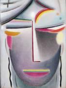 Head (Dark Buddha) (Alexej von Jawlensky) - Muzeo.com