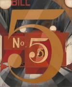 I Saw the Figure 5 in Gold (Charles Demuth) - Muzeo.com
