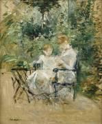 In the Garden (Berthe Morisot) - Muzeo.com