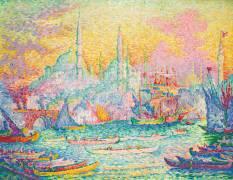 La Corne d'Or (Constantinople) (Signac Paul) - Muzeo.com