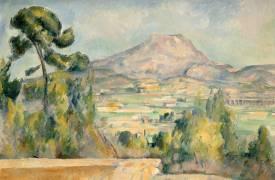 La Montagne Sainte-Victoire (Paul Cézanne) - Muzeo.com