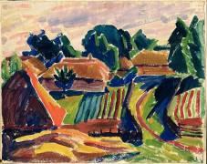 Landscape (Alexej von Jawlensky) - Muzeo.com