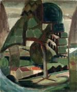 Landscape at Meulon-Hardricourt (Henri Victor Gabriel Le...) - Muzeo.com