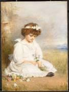 Little Speedwell's Darling Blue (John Everett Millais) - Muzeo.com