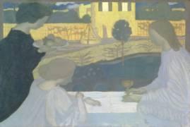 Martha and Mary (Maurice Denis) - Muzeo.com