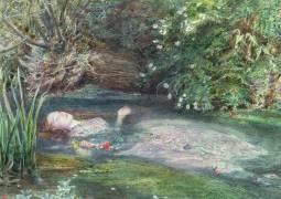 Ophelia (John Everett Millais) - Muzeo.com