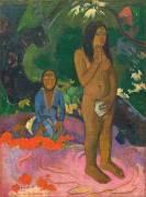 Parau na te Varua ino (Words of the Devil) (Paul Gauguin) - Muzeo.com