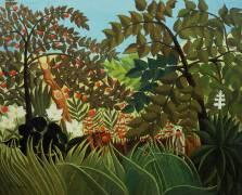Paysage exotique (Henri Rousseau) - Muzeo.com