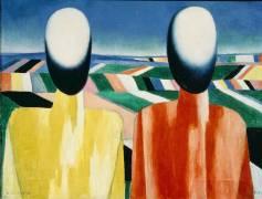 Peasants (Kazimir Malevitch) - Muzeo.com