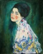 Portrait of a woman. (Gustav Klimt) - Muzeo.com
