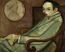 Portrait of Pierre-Jean Jouve (1887-1976) (Henri Le Fauconnier) - Muzeo.com