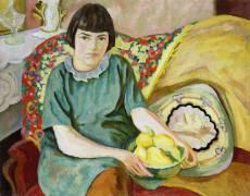 Portrait of Zoum Van den Eeckhoudt (Roger Fry) - Muzeo.com