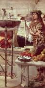 Preparations in the Colosseum (Lawrence Alma-Tadema) - Muzeo.com