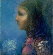 Profile (Odilon Redon) - Muzeo.com