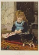 Puss in Boots (John Everett Millais) - Muzeo.com