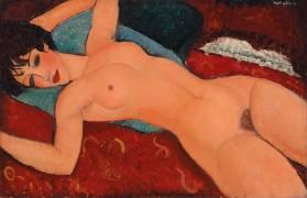 Reclining nude (Amedeo Modigliani) - Muzeo.com