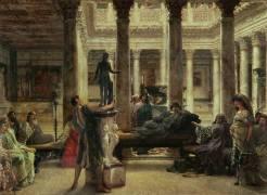 Roman Art Lover (Lawrence Alma-Tadema) - Muzeo.com