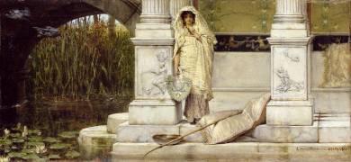 Roman Fischer Girl (Lawrence Alma-Tadema) - Muzeo.com