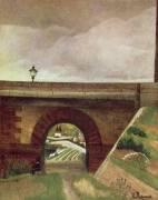 Sèvres Bridge (Henri Rousseau) - Muzeo.com