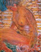 Sombre Nude (Pierre Bonnard) - Muzeo.com