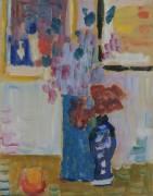 Still Life with Flowers (Alexej Von Jawlensky) - Muzeo.com