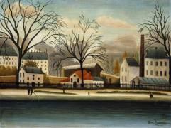 Suburb (Henri Rousseau) - Muzeo.com