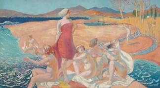 The Awakening of Odysseus (Maurice Denis) - Muzeo.com