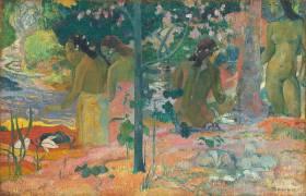The Bathers (Paul Gauguin) - Muzeo.com