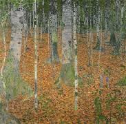 The Birch Wood (Klimt Gustav) - Muzeo.com