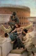The Coliseum (Lawrence Alma-Tadema) - Muzeo.com