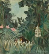 The Equatorial Jungle (Henri Rousseau) - Muzeo.com