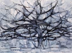 The grey tree (Piet Mondrian) - Muzeo.com