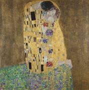 The Kiss (Gustav Klimt) - Muzeo.com