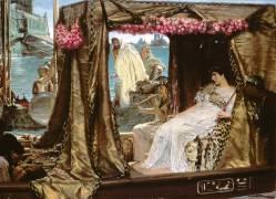 The Meeting of Anthony and Cleopatra (Lawrence Alma-Tadema) - Muzeo.com