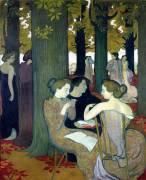 The Muses (Maurice Denis) - Muzeo.com