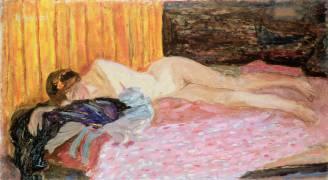 The Pink Sofa (Pierre Bonnard) - Muzeo.com