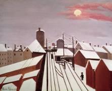 The Railway (Henri Rousseau) - Muzeo.com