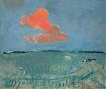 The Red Cloud (Mondrian Piet) - Muzeo.com