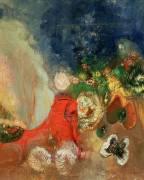 The Red Sphinx (Odilon Redon) - Muzeo.com