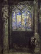 The Stained Glass Window (Odilon Redon) - Muzeo.com
